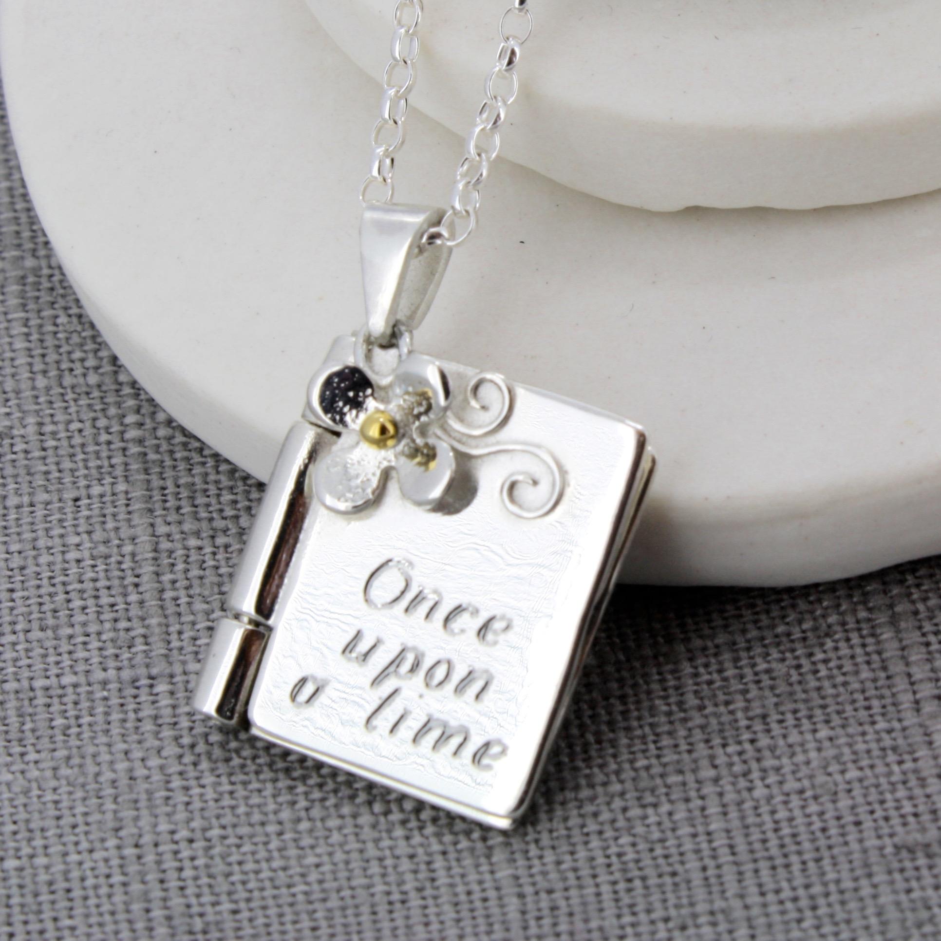 personalised Christening locket