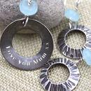 personalised sea shell jewellery