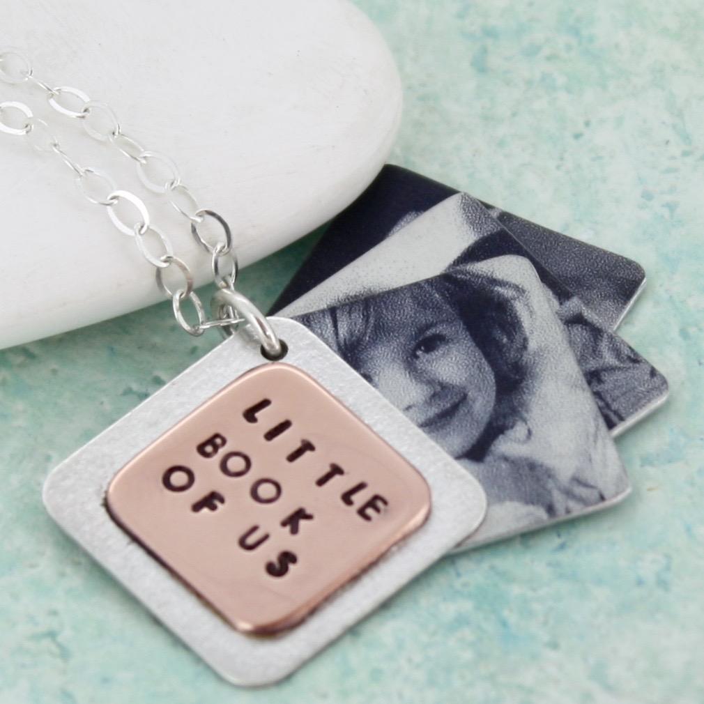 personalised photo book locket