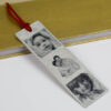 family photos personalised bookmark