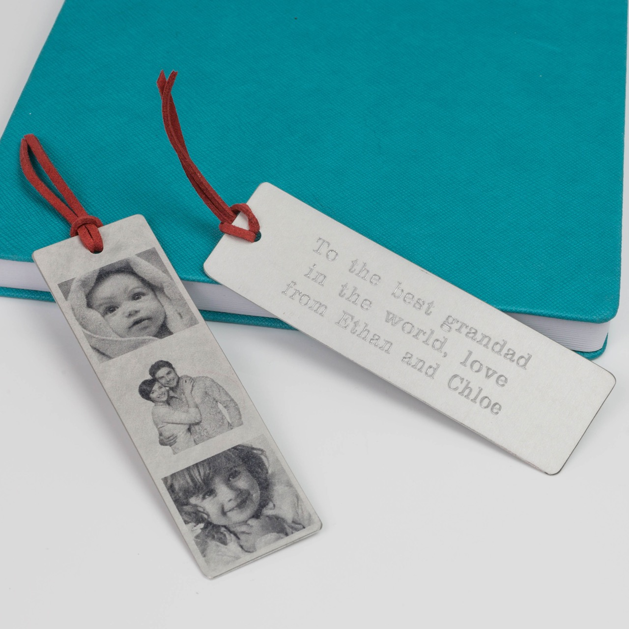 personalised photo bookmark