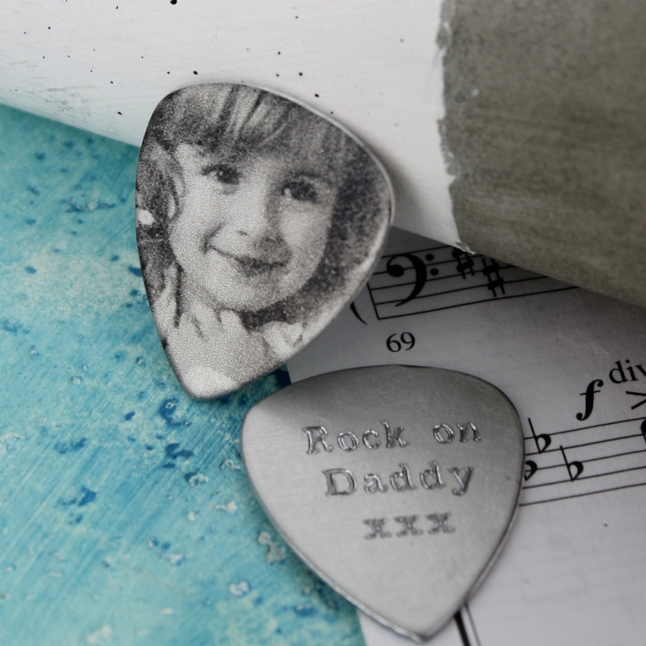 personalised photo plectrum