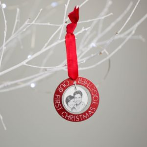 Our First Christmas Tree Decoration
