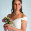 Wedding jewellery set with pearls