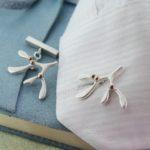 mistletoe cufflinks