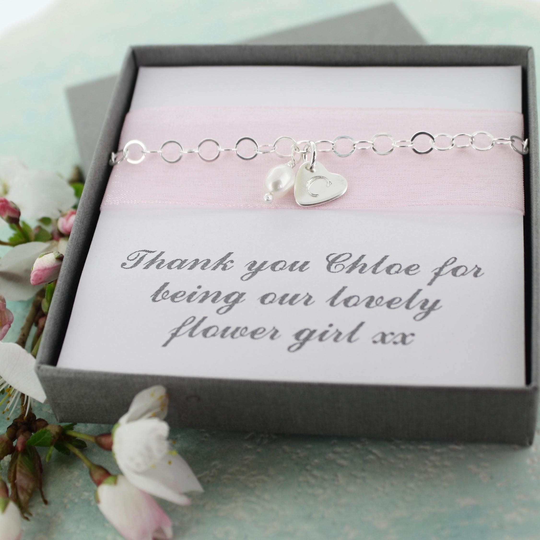 Flower girl jewellery