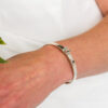 Bangle with daisy