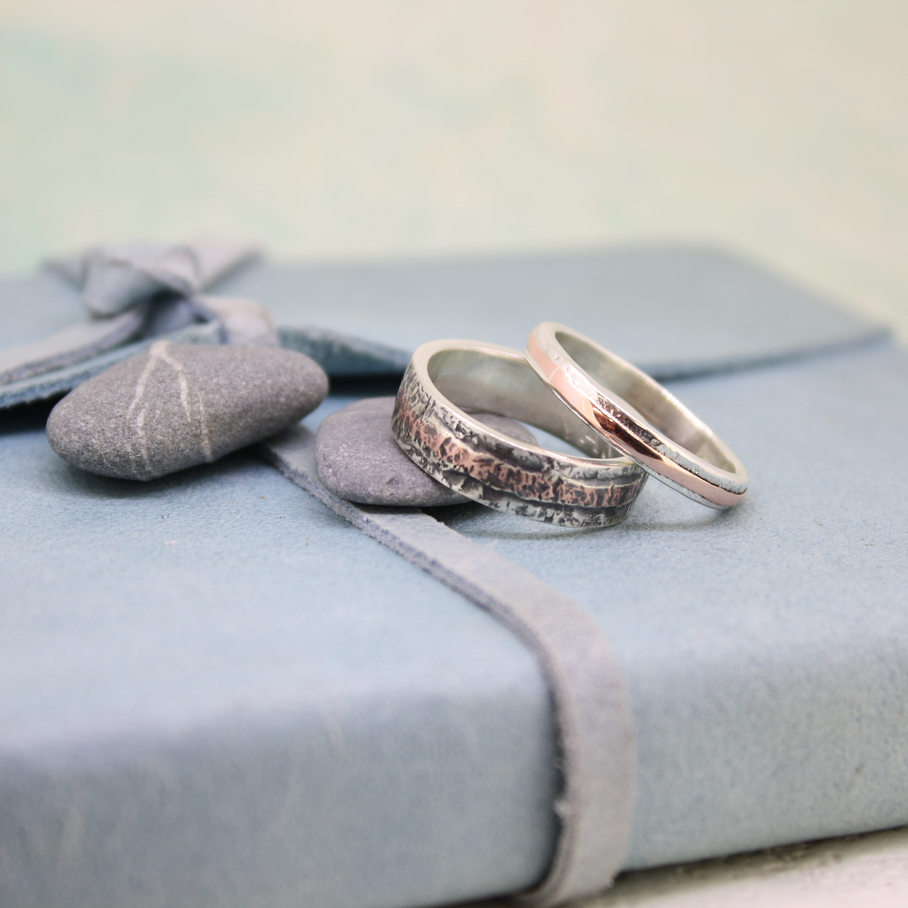 Cornish wedding rings