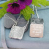 cow parsley personalised photo locket